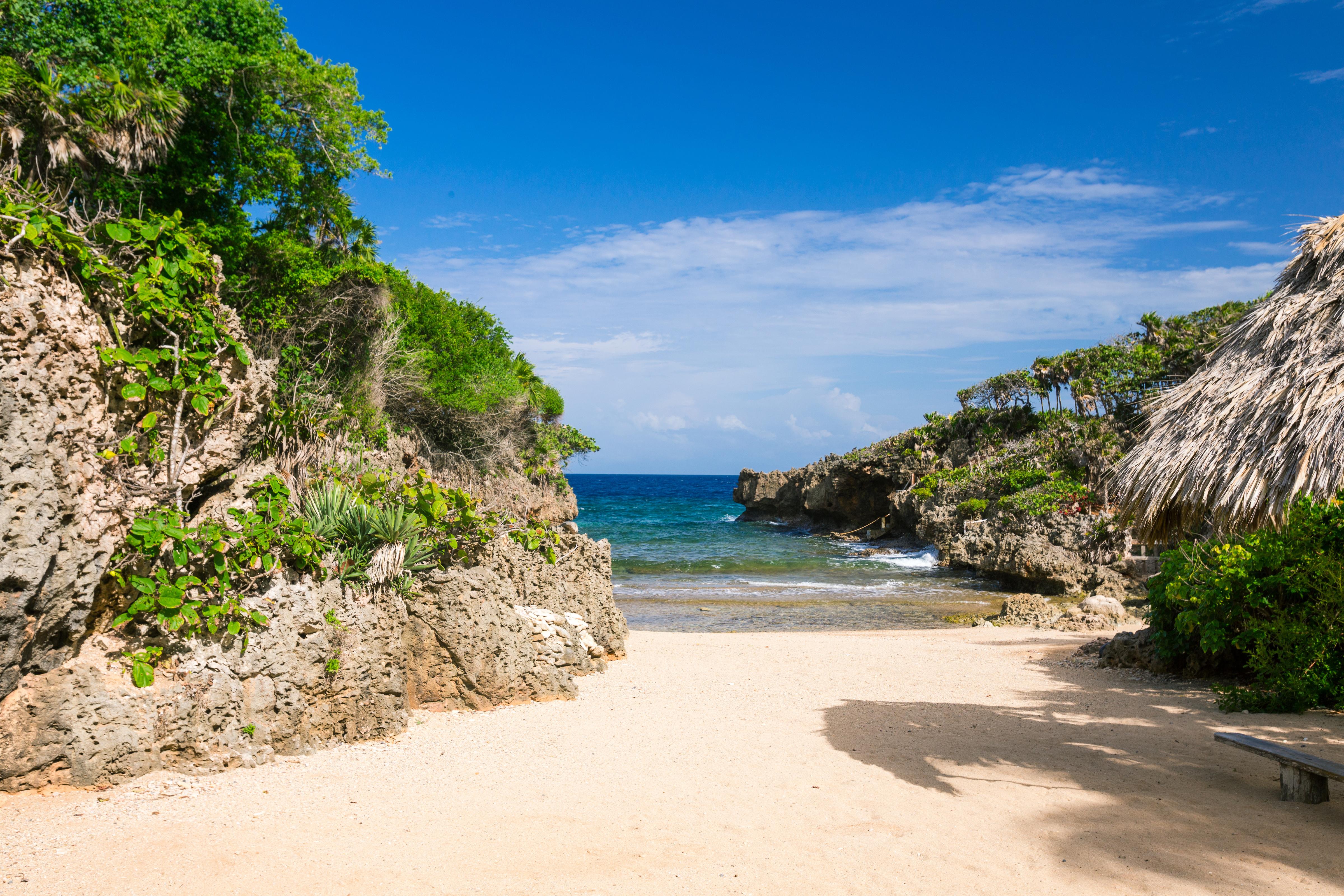 Roatan private beach